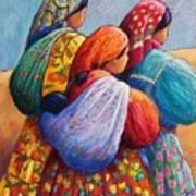 Tarahumara Women Art Print by Candy Mayer