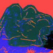 Tarbaby 2 Art Print by Adam Kissel