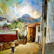 Tarbena 03 Art Print