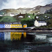 Tarbert Reflections Art Print