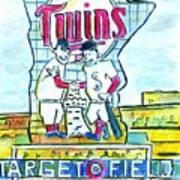 Target Field  Art Print by Matt Gaudian