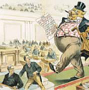 Tariff Lobbyist, 1897 Art Print