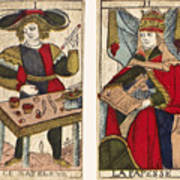 Tarot Cards, C1700 Art Print