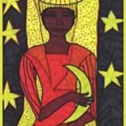 Tarot Of The Younger Self The High Priestess Art Print