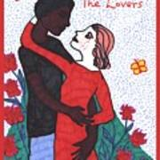 Tarot Of The Younger Self The Lovers Art Print