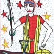 Tarot Of The Younger Self The Magician Art Print