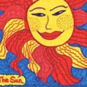 Tarot Of The Younger Self The Sun Art Print
