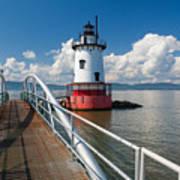 Tarrytown Lighthouse Hudson River New York Art Print