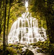 Tasmanian Waterfalls Art Print