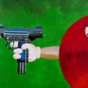 Taste The Rainbow Of Bullets Bitch Part 2 Art Print