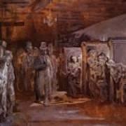 Tavern In Whitechapel 1869 Art Print