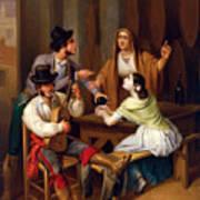 Tavern Scene Art Print