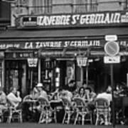 Taverne St. Germain, Paris Art Print