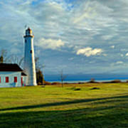 Sturgeon Point Lighthouse Art Print