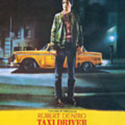 Taxi Driver - Robert De Niro Print by Georgia Fowler