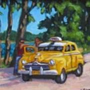 Taxi Y Amigos Art Print