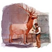 Taxidermist Art Print