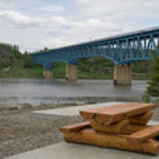 Taylor Peace River Bridge Art Print
