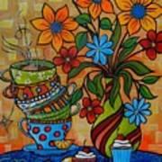 Tea And Cakes Art Print