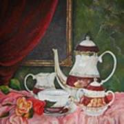 Tea Time Art Print
