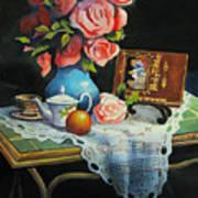 Tea Time Art Print by Robert Carver