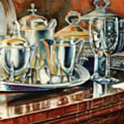 Tea With Marguerite Art Print