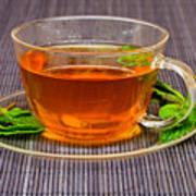 Tea With Mint Art Print