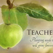 Teachers Art Print