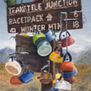 Teakettle Junction Art Print