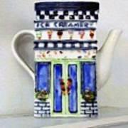 Teapot Delusional Art Print