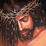 Tears From The Crown Of Thorns Art Print