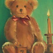 Ted E. Bear Art Print