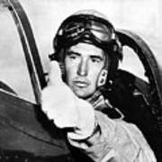 Ted Williams 1918-2002, American Art Print by Everett