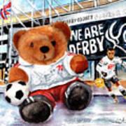 Teddy Bear Ince Art Print