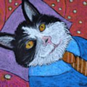 Teddys Daydream Art Print