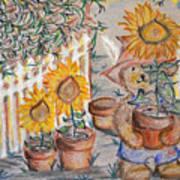 Teddy's Sunshine Art Print
