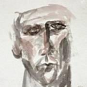 Teen Boy's Portrait Art Print