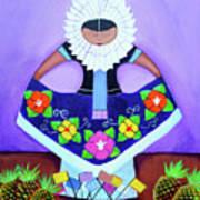 Tehuana Art Print