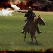 Tejano Cavalry Art Print