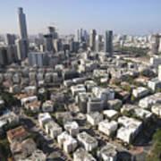 Tel Aviv And Ramat Gan Israel Art Print