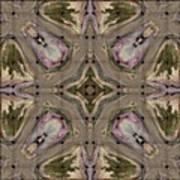 Telda Weave Art Print