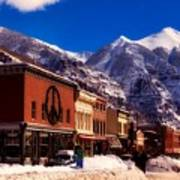 Telluride For The Holiday Art Print