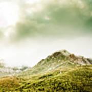 Temperate Alpine Terrain Art Print