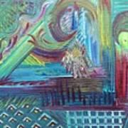 Temperature Rising Art Print
