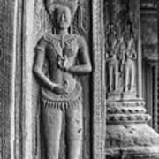 Temple Guardian Art Print