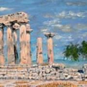 Temple Of Apollo  Art Print