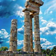 Temple Of Apollon Art Print