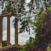 Temple Of Castor And Pollux Art Print
