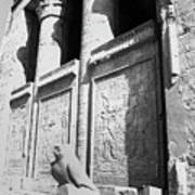 Temple Of Horus Art Print
