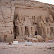 Temple Of Rameses II Art Print